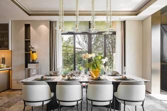 豪华型140平米别墅轻奢风格餐厅装修效果图