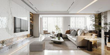 20万以上别墅现代简约风格客厅装修案例