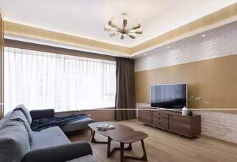 富裕型130平米三室两厅日式风格客厅装修图片大全