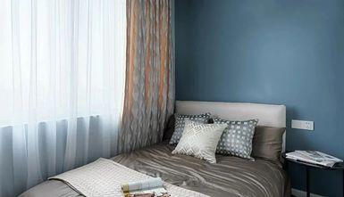 10-15万70平米轻奢风格卧室装修案例