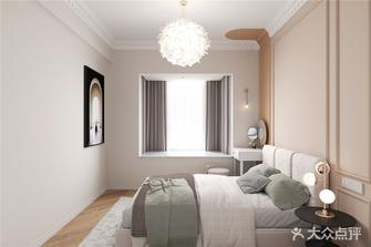 10-15万80平米法式风格卧室设计图