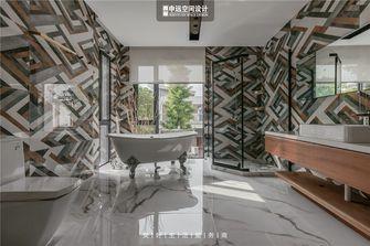 豪华型140平米别墅田园风格卫生间图