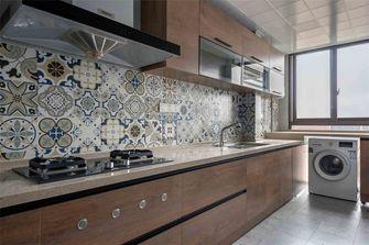 富裕型80平米三室一厅美式风格厨房设计图