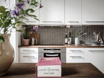 50平米一居室北欧风格厨房图