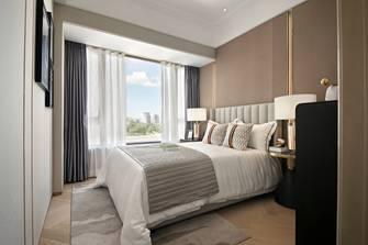 120平米三室一厅轻奢风格卧室装修效果图