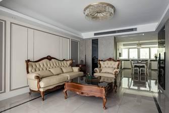 豪华型130平米三室两厅美式风格客厅图片大全