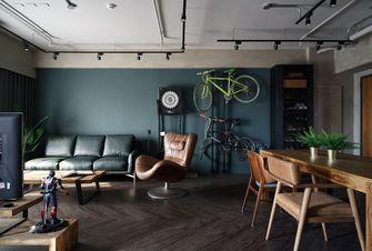 一居室工业风风格客厅装修图片大全