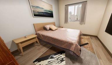 50平米公寓日式风格卧室图片