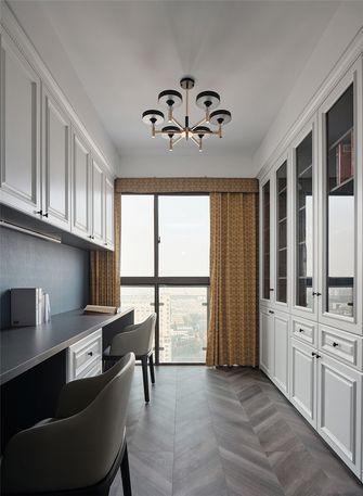 豪华型140平米四室两厅法式风格书房设计图