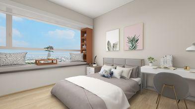 5-10万50平米北欧风格卧室装修案例