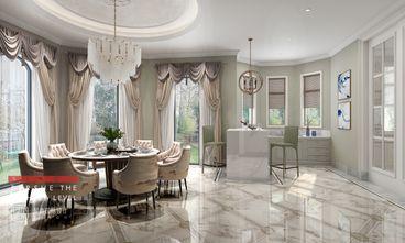 豪华型140平米别墅新古典风格餐厅装修图片大全