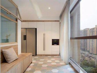 富裕型110平米三室两厅日式风格阳台效果图