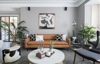 140平米四北欧风格客厅设计图