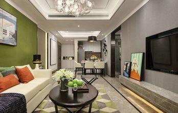 10-15万100平米三室一厅混搭风格客厅设计图