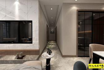 5-10万90平米三室两厅现代简约风格走廊装修图片大全