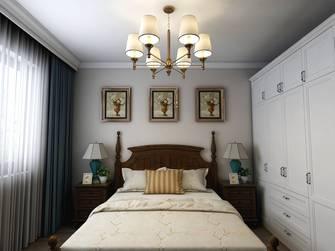 10-15万90平米三美式风格卧室装修案例