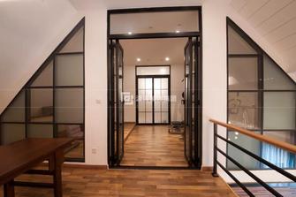 140平米复式混搭风格书房装修图片大全