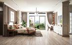 10-15万100平米三室一厅田园风格卧室效果图