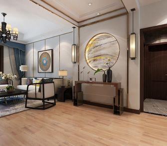 140平米三室两厅中式风格玄关设计图