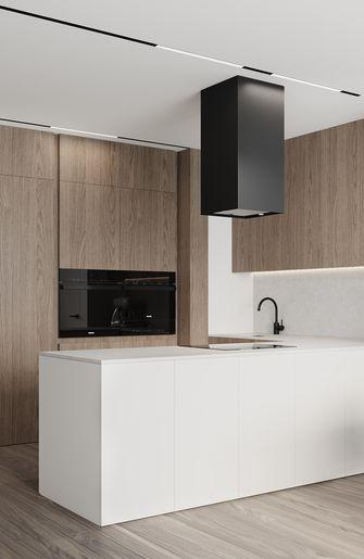 3-5万50平米现代简约风格厨房装修案例
