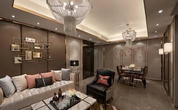 110平米三新古典风格客厅图片