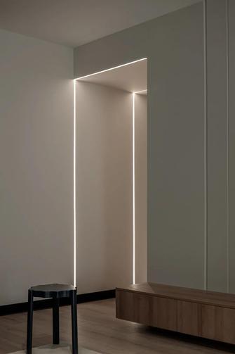 富裕型130平米三室两厅混搭风格走廊欣赏图