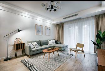 富裕型100平米三室一厅日式风格客厅图片