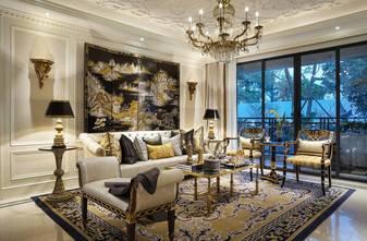 富裕型140平米三室两厅欧式风格客厅装修效果图