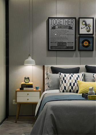 10-15万60平米公寓北欧风格卧室图