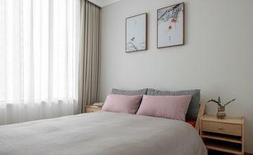 富裕型100平米三室一厅日式风格卧室图