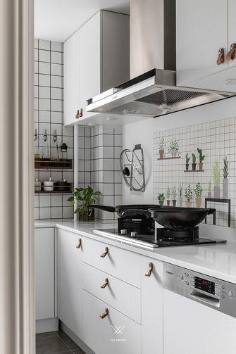 3-5万80平米北欧风格厨房图片大全