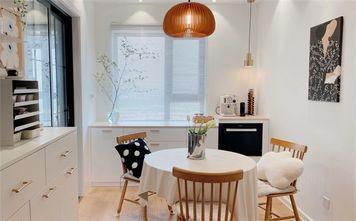 经济型100平米三室两厅日式风格餐厅图片大全