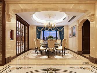 豪华型140平米别墅欧式风格餐厅装修效果图