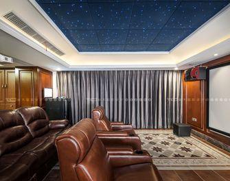 140平米别墅美式风格影音室装修图片大全