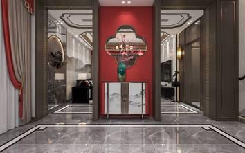 豪华型140平米别墅中式风格玄关图片