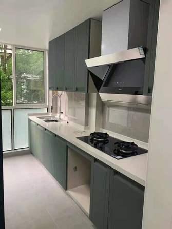 富裕型50平米公寓轻奢风格厨房图
