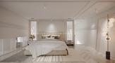 20万以上80平米一室一厅法式风格卧室装修案例