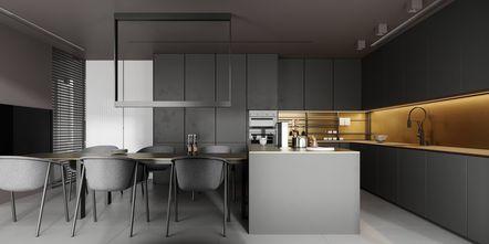 30平米以下超小户型工业风风格厨房图