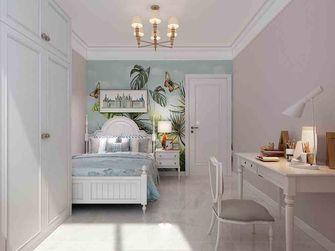 豪华型130平米三室一厅美式风格卧室设计图