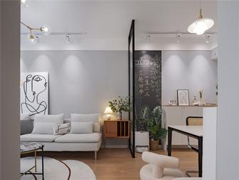 3万以下90平米一室两厅北欧风格客厅装修案例