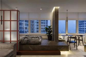 3万以下30平米超小户型现代简约风格卧室设计图