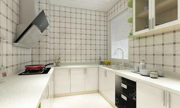 80平米三田园风格厨房装修图片大全