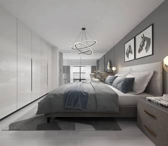 60平米复式北欧风格卧室图片