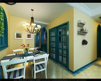 100平米三地中海风格餐厅图片大全