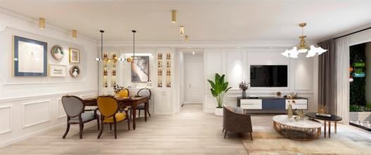 80平米一室一厅美式风格客厅效果图