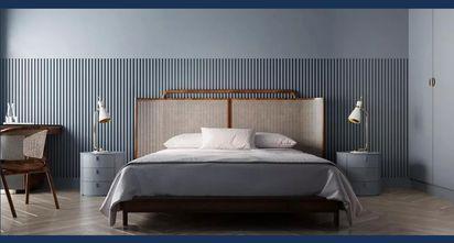 80平米三室一厅轻奢风格卧室图