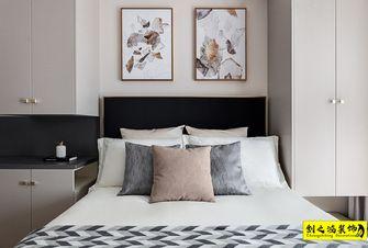 富裕型120平米三室两厅混搭风格卧室装修案例