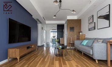 10-15万140平米复式北欧风格客厅设计图