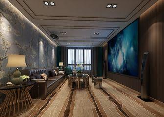 140平米现代简约风格影音室图片