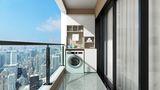 10-15万90平米三室两厅现代简约风格阳台图片大全